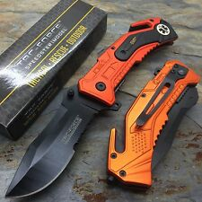 Tac Force EMT EMS Outdoor Camping Rescue Knife Survival Pocket Knife