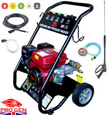 PROGENC PETROL POWER PRESSURE JET WASHER 2500PSI ENGINE WITH GUN HOSE EASY START