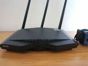 Tenda Wireless Router AC18 (AC1900) Smart Dual Band 802.11ac/a/b/g/n