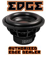 """EDGE Car Audio EDS18D1-E7 Car 18"""" Subwoofer Dual 1 ohm 2000w RMS / 6000w peak"""