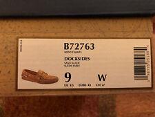 Sebago Docksides Sand Suede Boat Shoes Size 9W