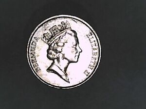 Bermuda 1990 Five cent Choice Uncirculated.