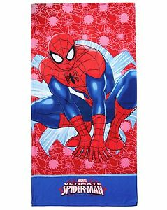 TELO MARE Microfibre Spiderman 70x140 Original Marvel Swimming Pool Beach Boys