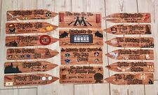 Harry Potter Signs & Arrows Party Decoration Set *16 Signs & Arrows*Laminated*