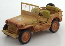1:18 Triple 9 Jeep Willy´s Casablanca Dirty Version 1943 Desert sand