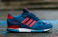 adidas Originals Mens ZX 750 Trainers Navy/Red Sneakers uk 7 10