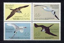 s1907a) MARSHALL ISL. 1987 MNH** Sea birds 4v [+]