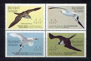 S1907a) Marshall Isl. 1987 MNH Sea Birds 4v