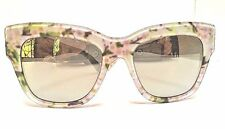 Dolce & Gabbana DG 4231 2843/6G Almond Flowers  Sunglasses Made in Italy