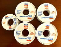 Rite Aid Latex Free Waterproof 1/2 Inch x 10 YDS Adhesive Tape, Lot of 4