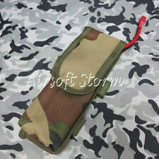 Airsoft Gear AEG External Large Battery Pouch Bag Pack Woodland Camo