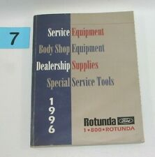 1996 Ford Rotunda Service Body Shop Equipment Supplies Tools Manual Used #7