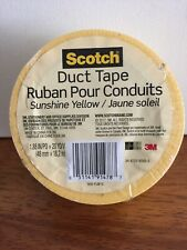 3M 920-YLW-C 20 Yards Sunshine Yellow Duct Tape
