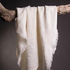 Bath Sheet. Waffle weave: Off-White