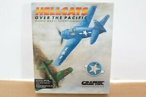 Hellcats over the pacific WWII flight simulator for macintosh big box game