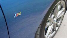 BMW /// M - Emblem Metall Schriftzug, 3D Aufkleber, Logo, badge, in chrom