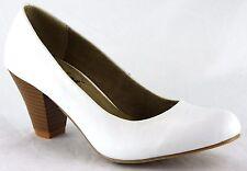 Andrea Conti Schuhe Sommer High Heels Pumps Echt Leder Gr.40 Weiß 2653