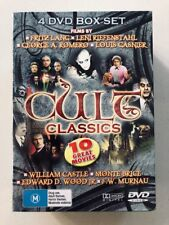 Cult Classics - 10 Movies (DVD, 4-disc) Region ALL - NEW & SEALED
