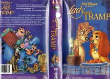 LADY AND THE TRAMP - Walt Disney -VHS -PAL-NEW-Never played!-Original Oz release