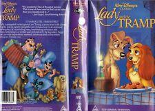 Lady and The Tramp Black Diamond Disney VHS Tape RARE Near MINT