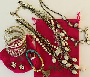 Silpada KR Lot 6 Piece Swarvoski Crystal Jewelry