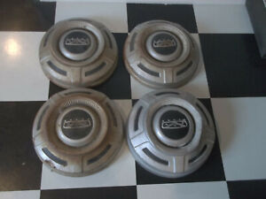 FORD 3/4 TON F250 1967 1968 1969 1970 1971 1972 12 INCH DOG DISH PAINTED HUBCAPS