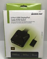 IOGEAR 2-Port  Usb DisplayPort Cable  KVM Switch Model ; GCS52DP