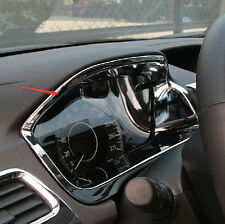 ABS Chrome 1PCS Interior Console Dash Panel Frame Trim For Honda CRV 2012- 2016