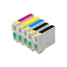5 tinta COMPATIBLES NON-OEM para usar en Epson  SX205 T0711 T0712 T0713 T0714
