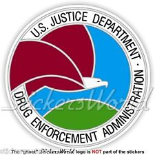 US Justice Department DRUG ENFORCEMENT ADMINISTRATION Seal DEA USA Sticker Decal