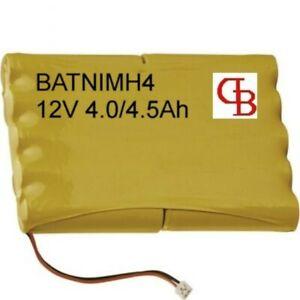 BATNIMH4 Batterie pour HAGER  - 12 Volts 4.0Ah/4500 mAh
