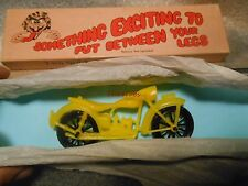 Vintage Leister Game Co.Gag Gift MC-1 Motorcycle in Original Box