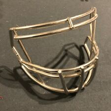 Nickel Plated Riddell Speed S2Bd-Sp 94921Sp8 Football Facemask - Very Good