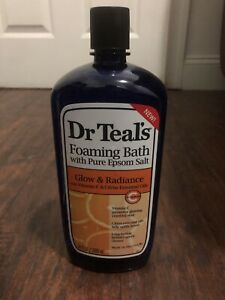 Dr.Teals Foaming Bath With Pure Epsom Salt Glow & Radiance
