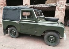 LAND ROVER 88 SERIES FULL HOOD - Black Canvas no Side Windows NEW!!!