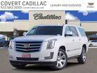 2017 Cadillac Escalade Premium Luxury 2017 Cadillac Escalade ESV Premium Luxury 87360 Miles Crystal White Tricoat Spor