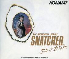 SSC Memorial Series Snatcher Game Joint Disk 1992 Konami Kojima CD msx