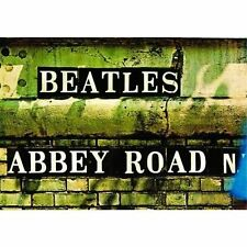 The Beatles Abbey Road Sign Postcard Gift Fan 100% Genuine Official Merchandise