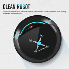Rechargeable Automatic Smart Robot Vacuum Floor Cleaner Sweeping Machine Black H