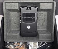 Motorola RAZR v3 pieghevole-cellulare mobile Phone gestori QUAD-band fotocamera WAP come nuovo