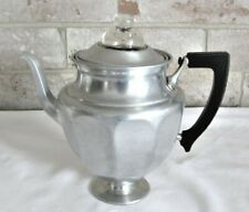Antique Landers Frary Clark Universal 479 Stove Top Pedestal Percolator - EXC