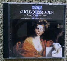 Girolamo Frescobaldi Francesco Tasini Il Primo Libro Di Capricci Tactus Tincani