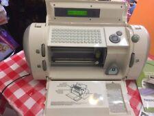 Cricut Expression Personal Electronic Cutter Machine Model CRV001 Bundle 4 Carts