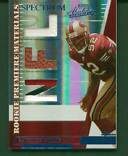 2007 Absolute Memorabilia Rookie Premiere Materials #258 Patrick Willis 72/100