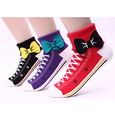 My 2nd Shoes Socks (5-PACK) 2Design(Sneakers Monsters) 2Length(Crew Ankle) BE