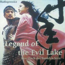 CD LEGEND OF THE EVIL LAKE - radiopresskit, Radio feature to THE Film, Promo