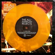 """The All American Rejects - Swing, Swing - Unplayed Orange 7"""" P/S"""