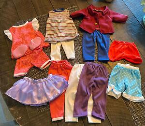 "Large Doll Clothes Kingstate - Fits 18"" American Girl & OG Dolls Lot Of 13"