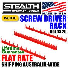STEALTH SPECIALTY TOOLS Magnetic Screwdriver Rack Tool Organiser Drawer Storage