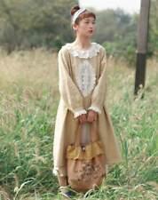 Robe tunique dentelle retro Mori superposition ancienne Shabby chic bohème